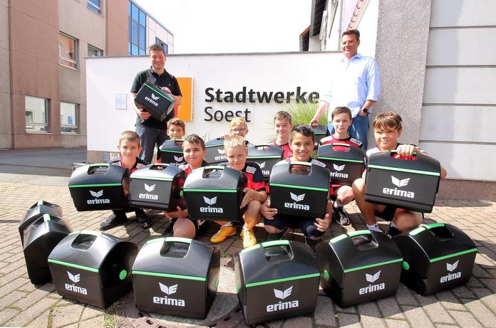 Stadtwerke Soest Spende an den Nachwuchs des Soester TV